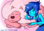 REQUESTED: Lapis and Lion by miss-tehisle