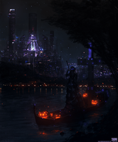 Witch Metropolis by Ishutani