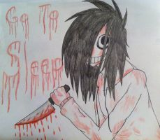 Jeff the Killer by StitchedSmile1
