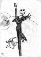Jack Skellington by vicjusmar
