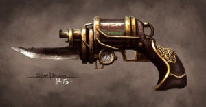 SteamPunk Face Melter by RyomaNinja