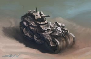 Sand tank concept by artfx-9