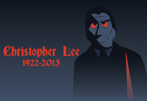 Christopher Lee RIP by Jarvisrama99