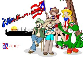 Viva Puerto Rico by DeadPhoenX