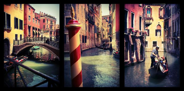 Candy-Coloured Venice by Cohi