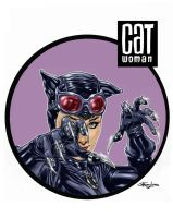 Catwoman by StefanoLanza