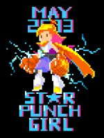 Starpunch Girl Poster by narm