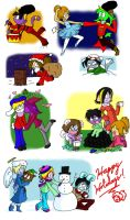 Holiday Doodlez by accasperberry3