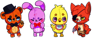Five nights at freddy's by hereiskoko