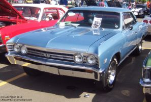 blue 67' Chevelle SS by Mister-Lou