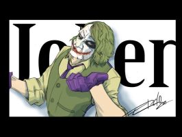 The Joker sketch art by KARMAIND