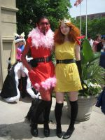Princess Morbucks and HIM at Anime North 2012 by FakeHonestyTrueLie
