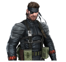 Metal Gear Solid Snake Eater 3D 01 by Corvasce1982