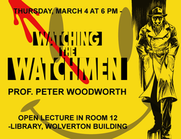 Watchmen Lecture Poster by clayangel