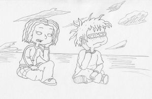 Lil and Chuckie by Tallarn