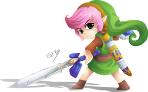 aLttP: Link by Lady-of-Link