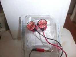 New Blood On The Dance Floor Earphones by A7XFan666