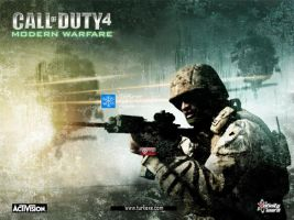 Call of duty 4 modern warfare by turkexe