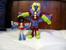 More Seeker Amigurumi by GlassCamel