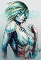 Female Titan by lllannah