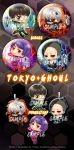 Tokyou Ghoul Chibi 2014 by Wolvtrune