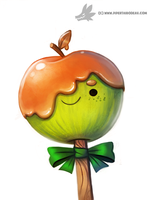 Daily Painting #936. Candy Apple by Cryptid-Creations