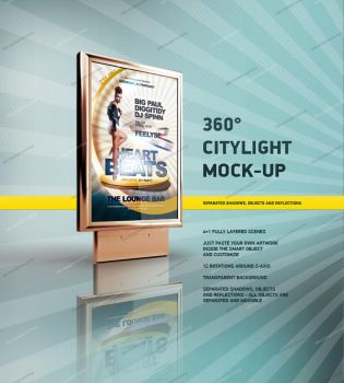 360 CityLight Mockup by csuz