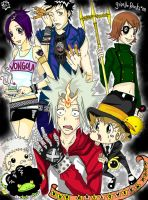 KHR Halloween Mix Up by GiselleRocks