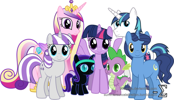 Sparkle Family Photo (Extended Version) by 90Sigma