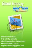 Gmail icons by Mayosoft