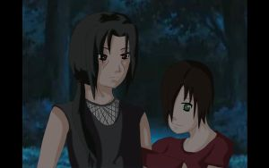 2nd Place Prize Samiko+Itachi by brooksrainne