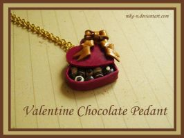 Valentine Chocolate Pendant by Nika-N