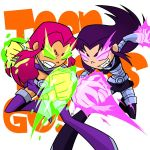 Teen Titans Go!: Starfire VS Blackfire by Evelynism