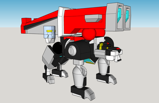 Voltron wip 4 by Lilscotty
