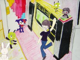 [AP Art - Concentration] Party in the Room V.2 by Kudaranai-Risu