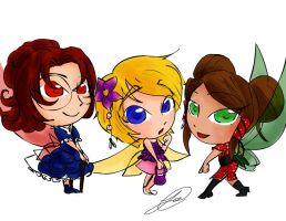the lady faires from strawberry days by crystalblackrose