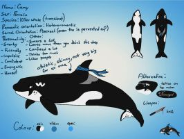 Camy ref sheet by Camy-Orca