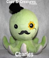 CharlesPlush by CogsNCreatures