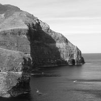 Scotland: :cliffs by Ilharess
