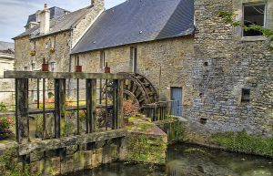 Ancient Moulin by CharlieMerci