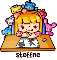 Doodling with my pocket pals by steffne