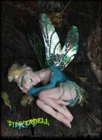 OOAK Sleepy Tinkerbell Fairy 1 by fairytasia