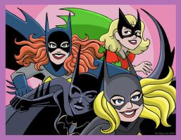 The Batgirls by TheBlackCat-Gallery