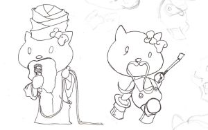 Hello Kitty Gone Wrong 4 by Tophoid