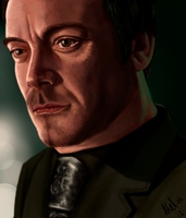 The actor know as Mark Sheppard by ChaosAcathla