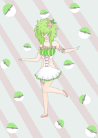 Shaymin: Gijinka by Appletumble