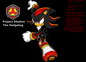 my new ID and last one....well maybe by ShadowTheHedgehog950