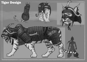 Tiger Design by RobbieMcSweeney