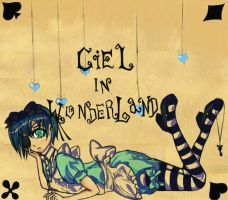 Ciel In Wonderland by silverstar77
