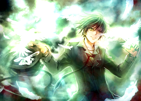 Another Green Magician D: by Shumijin